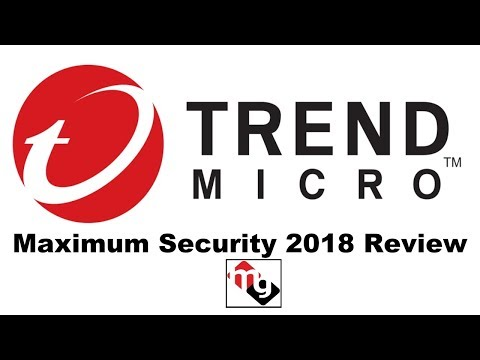 Trend Micro Maximum Security 2018 Review