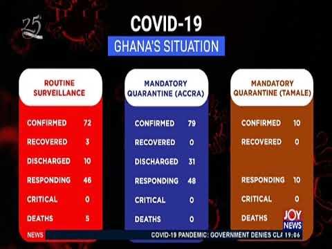 COVID-19 Pandemic Update - Joy News Prime (31-3-20)