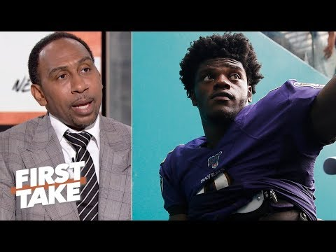 Stephen A. is pumping the brakes on the Lamar Jackson hype | First Take