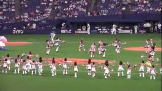 フルスクリーンでもきれいです。2011年8月4日 中日ドラゴンズ vs ヤクル...
