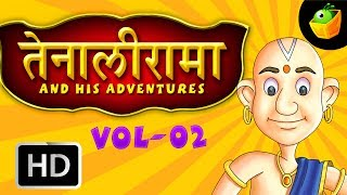 Tenali Raman Full Stories Vol 2 In Hindi (HD) - Compilation of Cartoon/Animated Stories For Kids