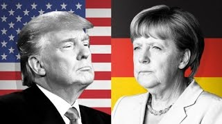 Trump vs Merkel They've exchanged harsh words in the past. Now they'll meet at the White House. CNN's Atika Shubert reports.