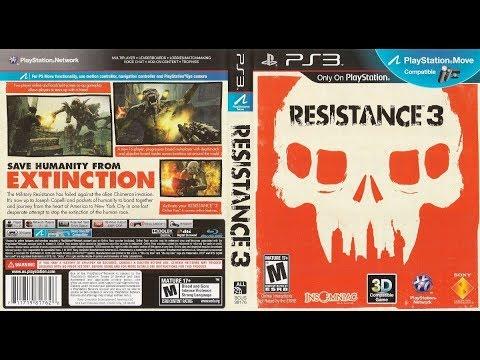Resistance 3 ЧАСТЬ1 PS3  СТРИМ