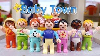 Playmobil Baby Town 👶 In dieser Stadt leben nur Babys 👶🏼 Playmobil Kinderfilm Serie