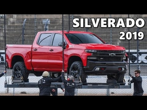 2019 Chevrolet Silverado //OFFICIAL// Reveal - YouTube