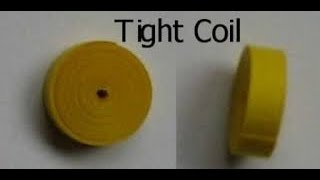 Quilling Basics- tight coil #1