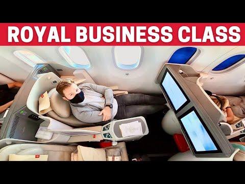 INSIDE Royal Jordanian BUSINESS CLASS *Boeing 787 Dreamliner*