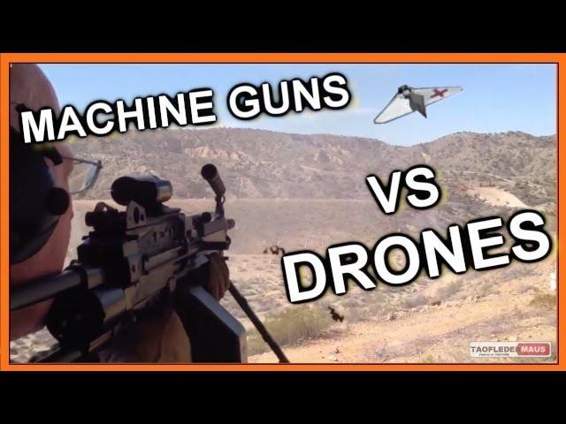 Shooting Down DRONES Does The Future Of War Look Like Terminator Skeet