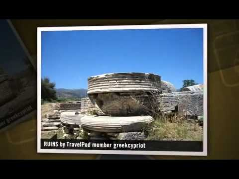 """THE ANCIENT RUINS AT IREO - SAMOS"" Greekcypriot's photos around IRAIO, Greece (ruins in samos)"