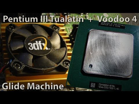 3DFX Glide Machine - Intel Pentium III Tualatin + Voodoo 4 preview