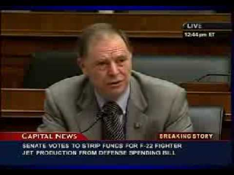 Ben Bernanke of the US Federal Reserve questioned by Bill Posey 21-7-09