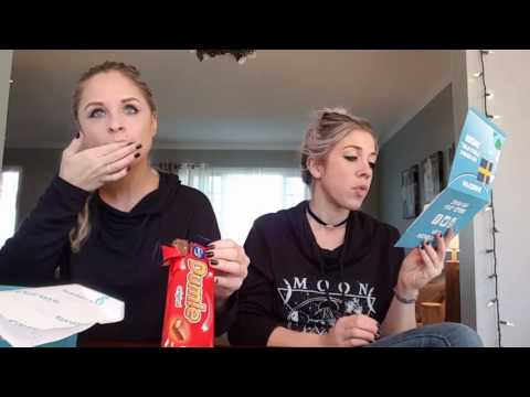 UNBOXING - Snack Crate/ Sweden Edition