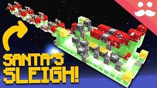 WORKING SANTA'S SLEIGH in Minecraft!