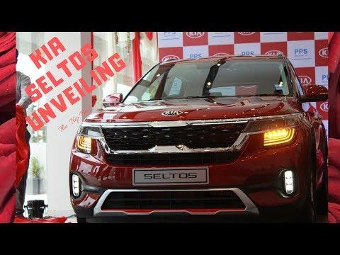KIA SELTOS   Unveiling   Grand Launch of PPS KIA, Bangalore, India
