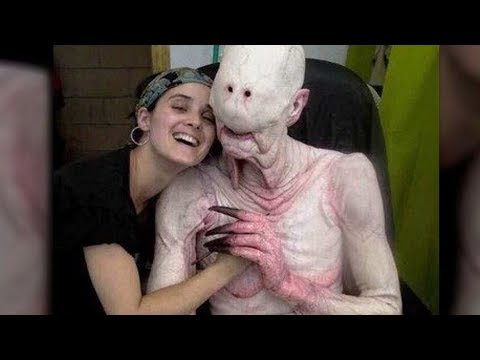 On-Set Photos That'll Change The Way You See Horror Movies