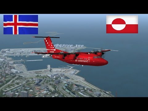 *Special Livestream* Dash7 /Dash8 tour of Iceland & Greenland (Joint stream) Vatsim ~FSX Steam~