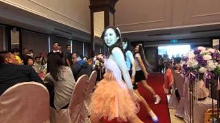 mike yuli 婚禮 一進舞蹈表演 感謝我的美麗舞者 鄭小五 cheng five bunny兔
