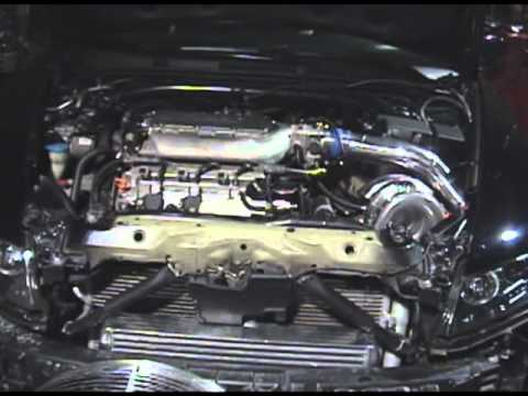 Acura TL Turbo J32A3 wmv