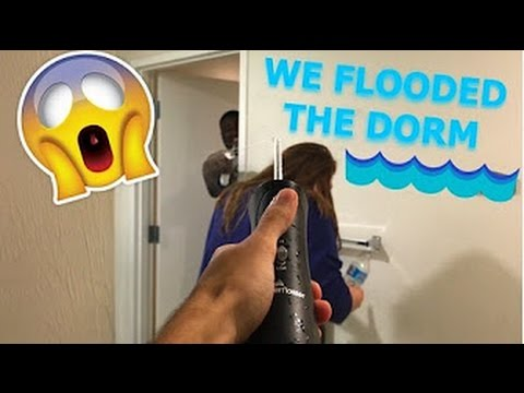 DORM WAR!!!!!!! Water fight, College, Fort Myers, Florida Southwestern State College.
