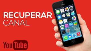 Como recuperar um canal do YouTube pelo celular | Pixel Tutoriais