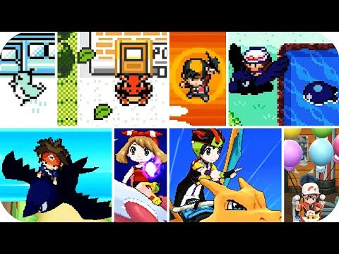 Evolution Of Using Fly In Pokémon Games (1996 - 2018)