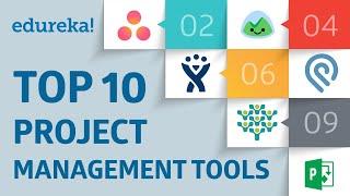 Top 10 Project Management Tools | PMP® Tools and Techniques | PMP® Training Videos | Edureka