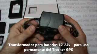 Localizador GPS para coche, camiones, mercancias, flotas - Tracker TK102-2