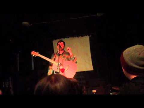 Greg Barnett (The Menzingers) - I Don't Wanna Be An Asshole Anymore (LIVE @ Manchester 17/1/16)