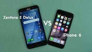 VIDEO: Apple iPhone 6 Vs Asus Zenfone 2 Deluxe Comparison