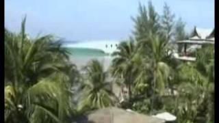 Sóng thần ở bãi biển Thái Lan (videokyniem.com)