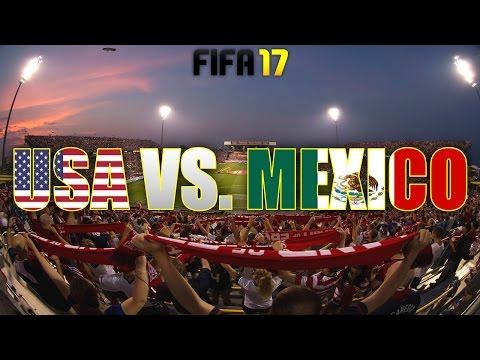 USA VS. MEXICO @ MAPFRE STADIUM! (FIFA 17 PREDICTS)