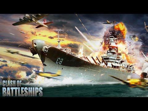 Clash of Battleships - Gameplay (ios, ipad) (RUS)