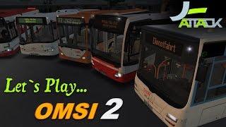Let's Play Omsi 2 #120 - Drängeleien | Full-HD