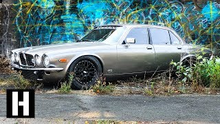 Not Your Grandpa's Jaguar: Custom Turbo Jag Built to Drift!