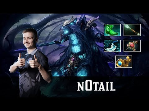 n0tail - Abaddon Dota 2   Gameplay #Patch7.23e 07/01/2020