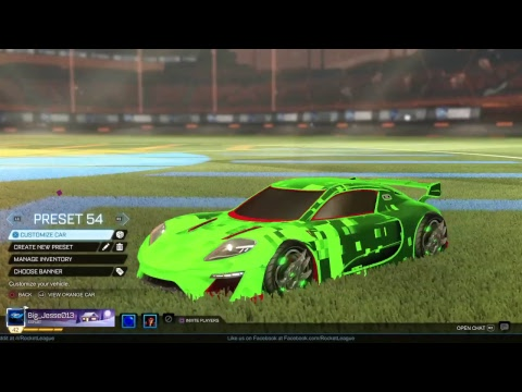 Rocket league trading & playing games opening crates etc
