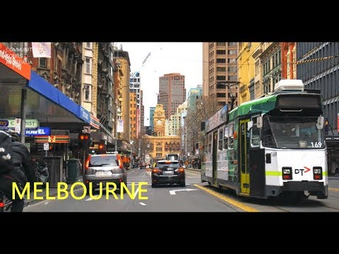 Melbourne City Centre 4K
