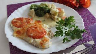 Рыба по-французски в духовке