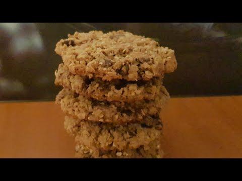 cookies-aux-flocons-d'avoine-/-oatmeal-cookies-au-cook-expert-magimix