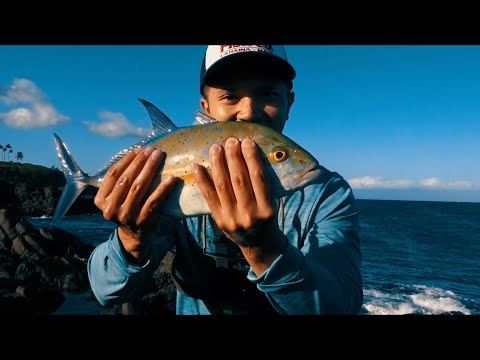 Fishing In Hawaii Maui Part #1