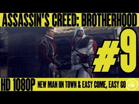 ASSASSIN'S CREED BROTHERHOOD - New Man In Town - Walkthrough No Commentary - Part 9