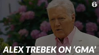 'Jeopardy!' host Alex Trebek on GMA: Exclusive interview about cancer, life, his book