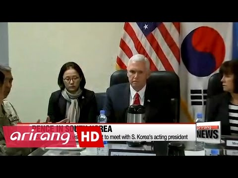 Thumbnail: U.S. Vice President Pence to hold talks with S. Korea's acting president over THAAD, N. Korea