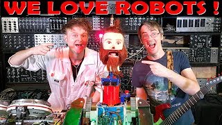 Dancing, Fire-Breathing Robot w. Look Mum No Computer   James Bruton