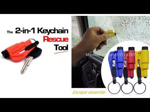 Emergency Keychain car Escape Tool