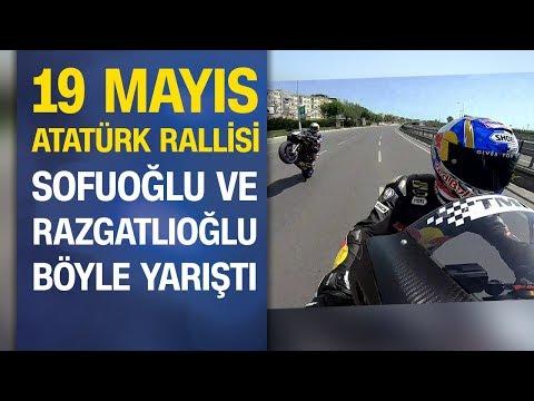 19 Mayıs Atatürk Rallisi: Kenan Sofuoğlu ve Toprak Razgatlıoğlu yarıştı
