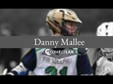 Danny Mallee Lacrosse Highlights   PA 2020   Att