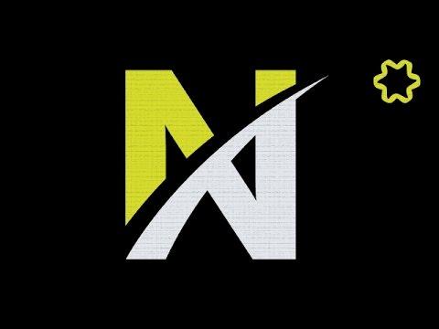 Adobe illustrator tutorial : Create Letter Logo Design Using Font ...