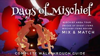 Days of Mischief - Halloween Event items Review | Sky children of the light - Noob Mode screenshot 5