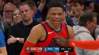 Oklahoma City Thunder vs Philadelphia 76ers : January 19, 2019
